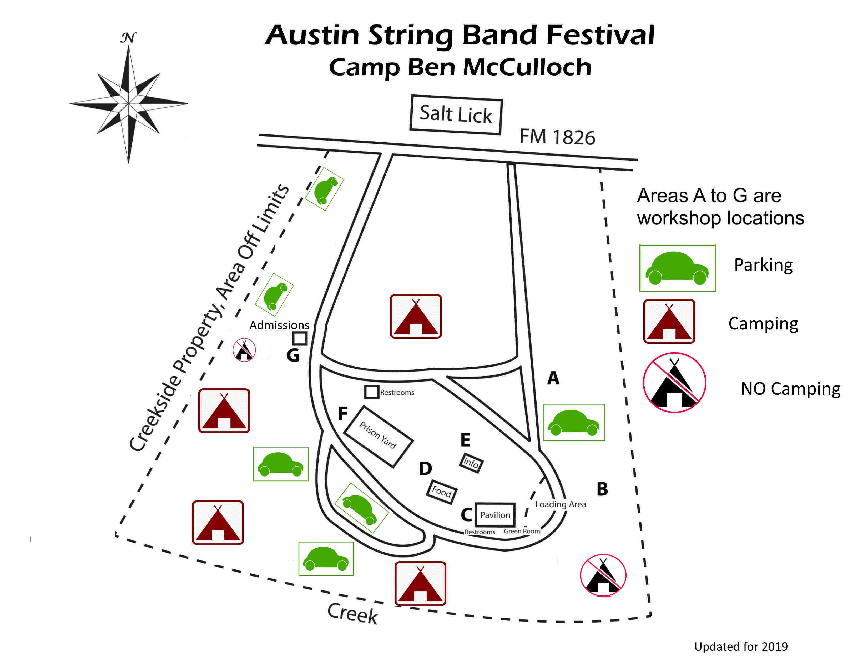 ASBF Site Map